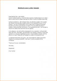 Medical Leave Of Absence Letter Template Gdyinglun Com