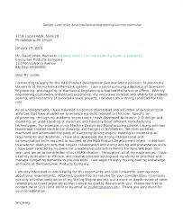 Cover Letter For Computer Science Internship Application Cover Letter Example Cover Letters For