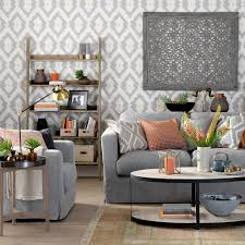 Grey Living Room Ideas Ideal Home Living Room Decorating Ideas In Grey