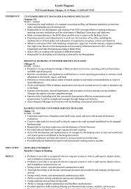 Retail Customer Service Resume Sample Banking Customer Service Resume Samples Velvet Jobs 34