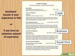 Bring following format into play this as. How To Make A Resume With Pictures Wikihow