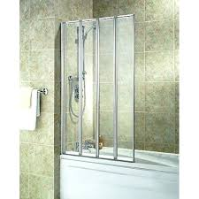 wickes shower screen silver effect frame four fold bath screen glass shower screen seal wickes