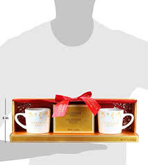 Starbucks mug and hot chocolate gift set. Thoughtfully Gifts Godiva Cocoa For 2 Gift Set Includes 2 Godiva Mugs And 2 Godiva Milk Chocolate Cocoa Mixes Pricepulse
