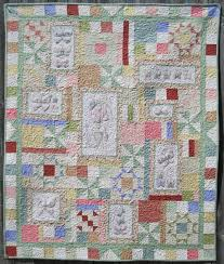 Turnberry Lane Machine Embroidery patterns, table runners, quilts ... & Spring's in the Air Machine Embroidery Quilt by Turnberry Lane Adamdwight.com