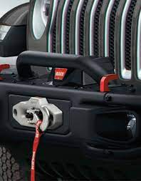 Upgrade jeep® performance and style with aftermarket accessories and parts at kc customs. 2020 Jeep Wrangler Jl 4 Door Accessories Grille And Winch Guard Hoop 82215351 Jim Click Jeep Parts