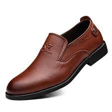 تسوق 2018 The <b>New Genuine Leather Men</b> Formal Shoes British ...