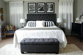 gray full headboard dark grey upholstered headboard ideas queen wood contemporary linen on tufted platform arctic