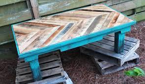 diy pallet wood coffee table web