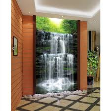 Small Picture beibehang wall paper 3d art mural HD waterfall natural beauty