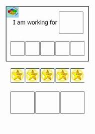 36 Extraordinary Reward Chart For Autistic Child