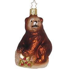 Bär Inge Glas Weihnachtsschmuck