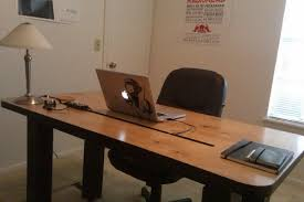 Cool DIY Computer Desk With Cord Management