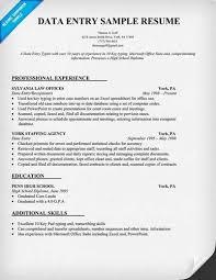 Data Entry Operator A Href Http Resume Tcdhalls Com Resume Html