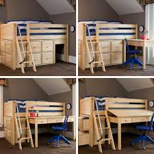 kids loft bed with desk. Decorating Decorative Kids Loft Bed With Desk 7 LowLoft Plans Lowloft N
