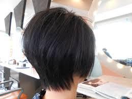 前下がりラインのふんわりショート 40代50代60代髪型表参道フリー In