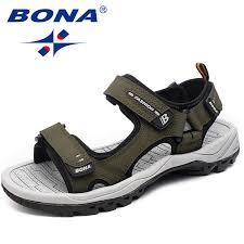 BONA New Classics Style <b>Men Sandals Outdoor</b> Walking <b>Summer</b> ...