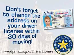 License Office Driver Change Requirement Youtube Address Texas -
