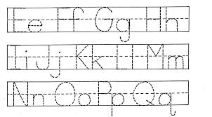 Printable Alphabet Worksheets | Homeschooldressage.com