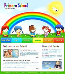 Kids School Website Template School Template Best Kindergarten Website Templates Primary