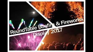 round table bonfire fireworks display 2017 hexham