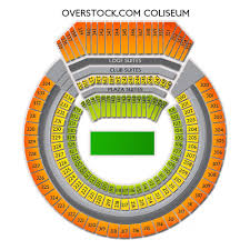 Oracle Arena Seating Chart Raiders Oakland Coliseum Tickets