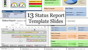 Project Status Report Ppt Status Template Be Clear Successful With ...
