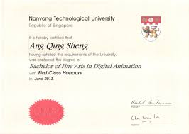 First Class Degree Received My Degree AQS 7
