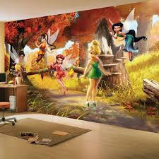 Disney Bedroom Decorations Details About Disney Fairies Tinkerbell Friends Large Wall
