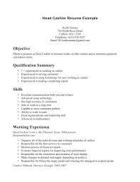 ... Sample Cashier Resume 16 Cashier Resume Sample Resumes ...