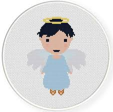 Angel Cross Stitch Patterns Impressive Charts Club Members Only Angel Cross Stitch Pattern Daily Cross