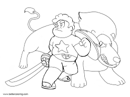 Best Steven Universe Coloring Pages By Djpsyc Free Printable