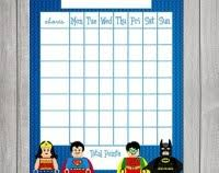 Lego Batman Reward Chart Lego Batman Reward Chart Lego Batman Reward Chart