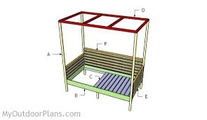 full size of outdoor daybed swing plans diy with canopy free woodworking and architectures excellent building
