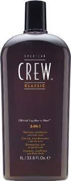 <b>AMERICAN CREW</b> Classic <b>3</b>-<b>In-1</b> Shampoo/Conditioner/Body Wash ...
