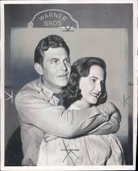 Andy Griffith and his first wife Barbara. Taken on the set of No Time for  Sergeants. | Andy griffith, Don knotts, Movie stars