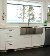 how to install farm sink tips for installing a stainless steel farmhouse sink at installing farmhouse
