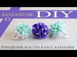 Новогодняя <b>повязка для волос</b>. Канзаши. МК. Christmas bandage ...