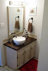 Custom Bathroom Countertops Custom DIY Wood Countertop DIY In 48 Pinterest Bathroom House And Home