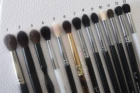 tapered blending eye brushes review collection