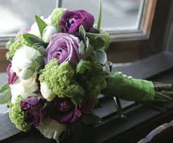 Image result for purple wedding bouquets