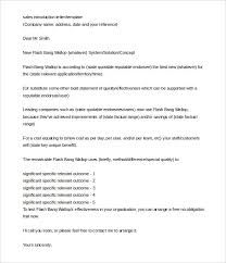 Sample Introductory Letters 3 Letter Of Introduction Templates Doc Free Premium Templates