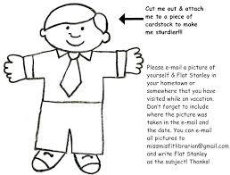 Flat Stanley Template Extraordinary Flat Stanley Clothing Template Clothes Letter Skincenseco