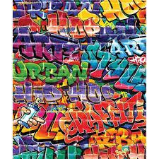 Behang Graffiti Walltastic 245x203 Cm 43855 Online Kopen