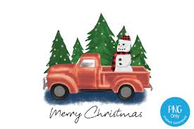 Alibaba.com offers 1,386 christmas tree truck products. Christmas Truck And Snowman Graphic By Tori Designs Creative Fabrica