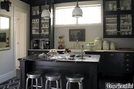 Image Dark Wood House Beautiful 10 Black Kitchen Cabinet Ideas Black Cabinetry And Cupboards