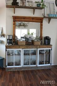 office coffee bar. 9+ DIY Coffee Bar Ideas And Inspiration At Home Decoration Office