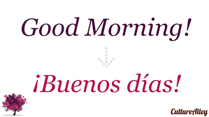 Good Morning In Spanish Quotes Best of Good Morning' In Spanish YouTube