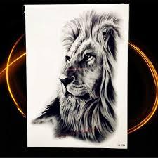 Detail Feedback Domande Su Africa Serengeti Leone Tatuaggio