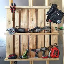 great idea for organizing drills etc in the garage made in just a