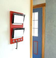 magnetic mail holder mail organizer wall mount key magnetic letter climbing regarding holder designs refrigerator magnetic